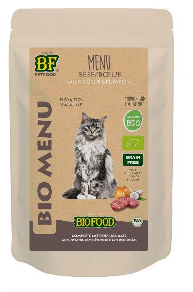 Biofood Bio Kattenvoer Rund Menu is lekker biologisch kattenvoer