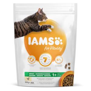 Katten zijn gek op IAMS for Vitality kattenbrokken kip