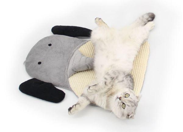 Sisal Krabmat voor Katten met leuke kat