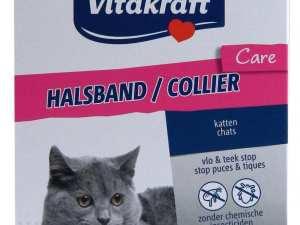 Vitakraft Vlooien en Tekenband voor Katten 38 cm
