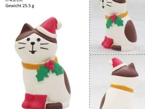 Kerst Kattenbeeldjes – Mini Kerstdecoratie