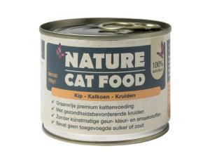 Nature Cat Food – Kip & Kalkoen 200g