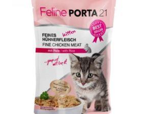 Feline Porta 21 Kitten Natvoer 100g