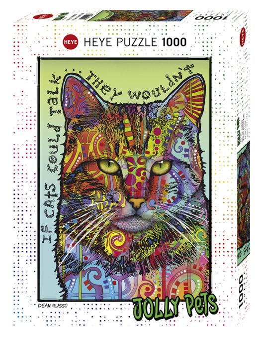 Puzzel met Katten 1000 stukjes - Jolly Pets als katten konden praten