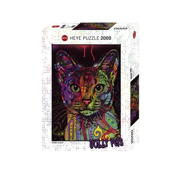 Katten puzzel met 2000 stukjes