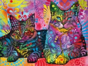 Puzzel met Katten 1000 stukjes – Jolly Pets