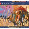 de doos van de Grote Kat Puzzel 1000 stukjes leeuw