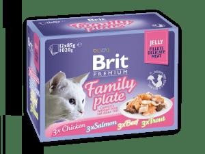 Brit Premium Katten Natvoer Family Plate 12 x 85g