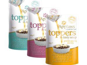 De verschillende Applaws Cat Toppers 3 x 40g