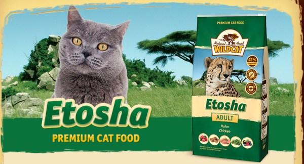 Wildcat Kattenvoer Etosha heeft een hoog vleesgehalte