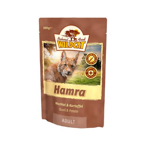 Wildcat Natvoer voor Katten 100g Hamra (kwartel & aardappel)