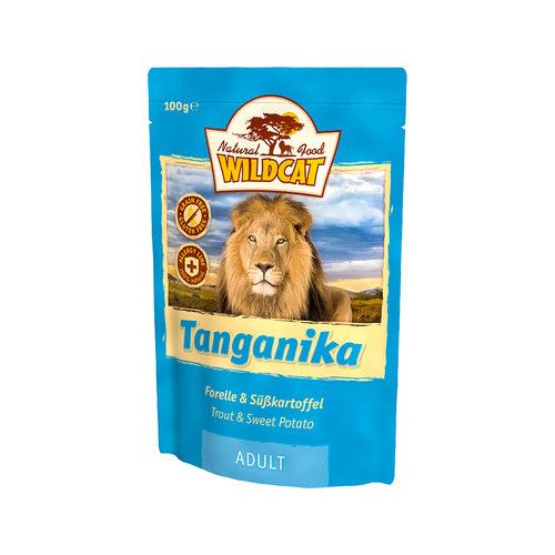 Wildcat Natvoer voor Katten 100g Tanganika (forel & zoete aardappel)