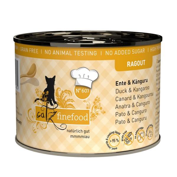 Catz finefood Ragout N°607 – Eend & Kangoeroe