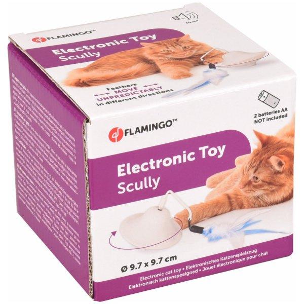 Elektronisch Kattenspeelgoed met Veer is een leuk kattenspeeltje