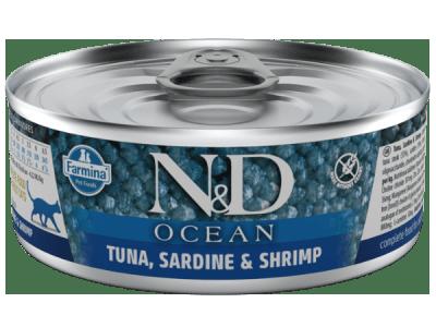 Farmina N&D Ocean Katten Natvoer 80g
