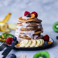 [Rezept] Zuckerfreie Haferflocken-Pancakes (vegan)