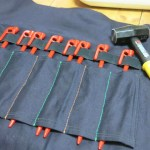 材料費400円!ペグを収納するロールケースを作ってみた!