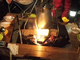 囲炉裏テーブルのDIY