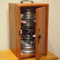 フェアハンドランタン用木製ケースを、100均材主体で作ってみた!