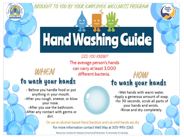 Importance of Handwashing Flyer