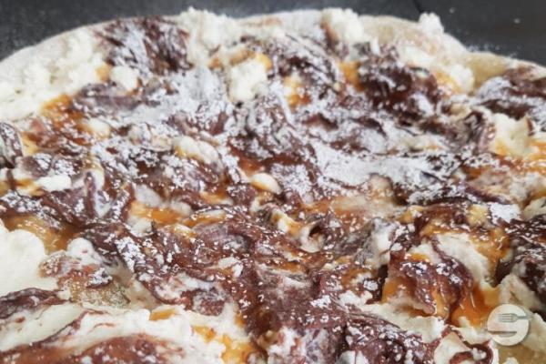 Pizza Individuelle Chocolat Nutella