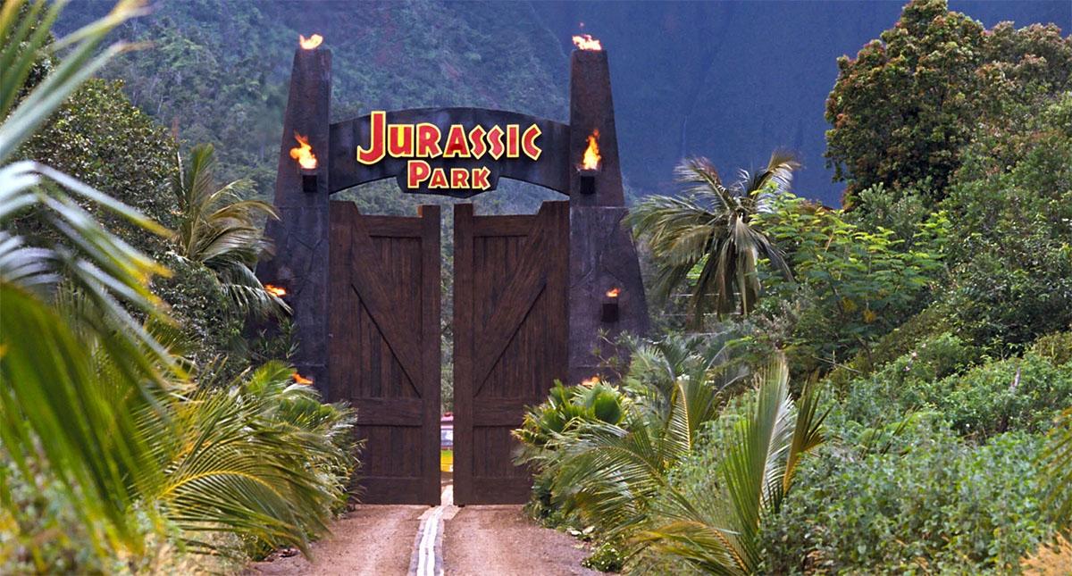History of Jurassic Park