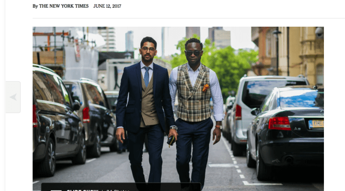 London Fashion Week SS18 Features   Cuts for Him
