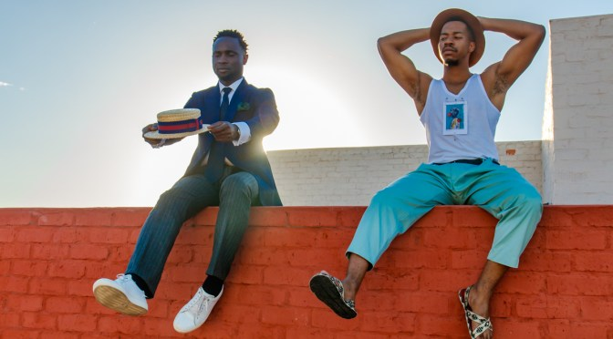 Fashion as an art form Cuts for Him meets Yanga Madlala