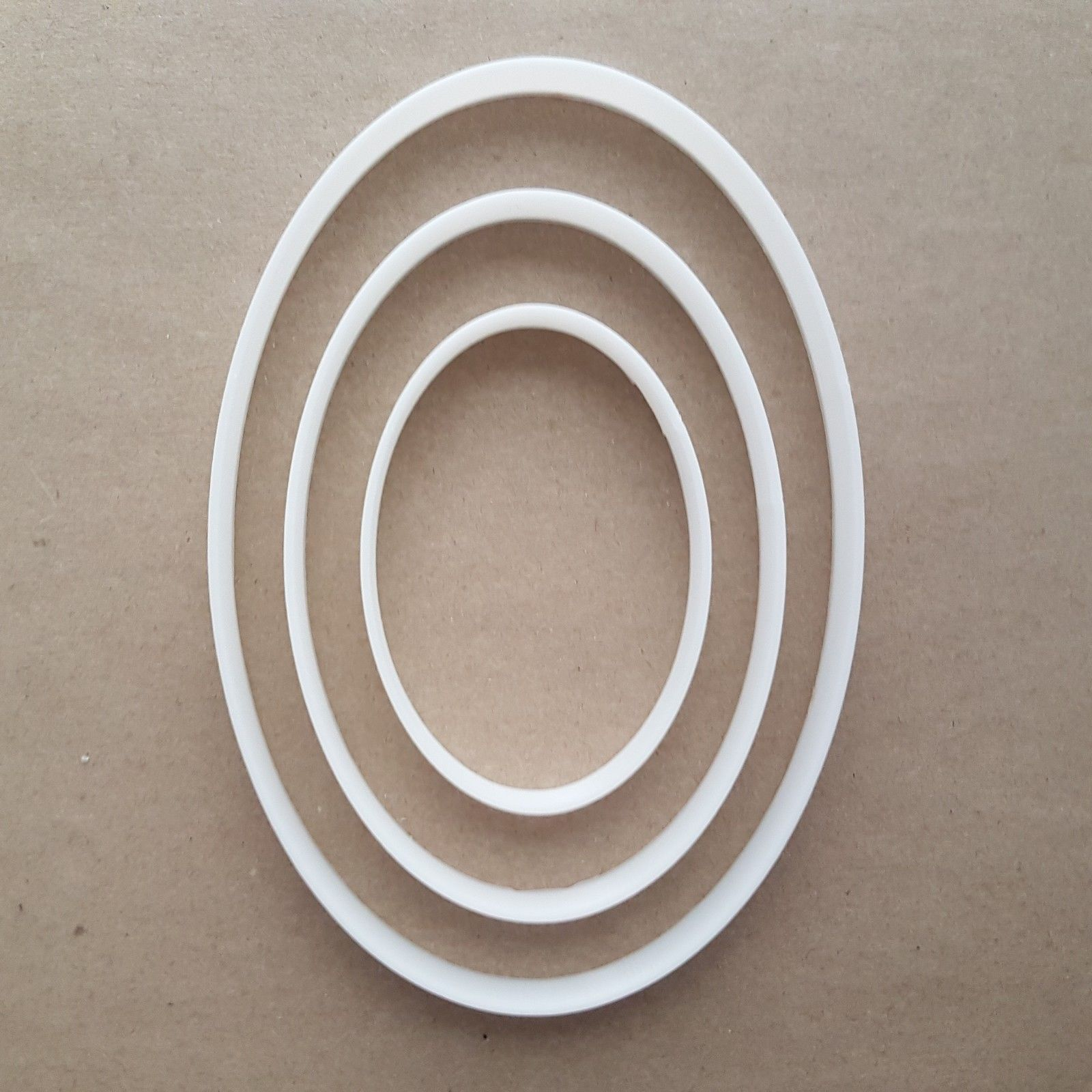 Oval Curve Egg Ellipse Shape Cookie Cutter Dough Biscuit