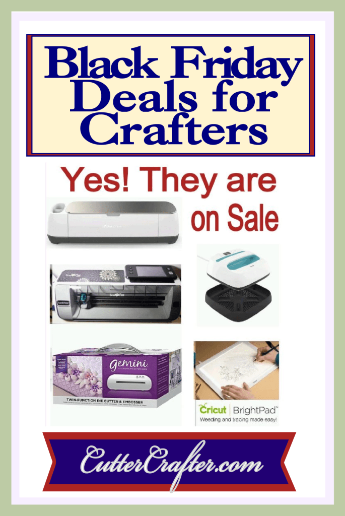 Black Friday Deals for Crafters