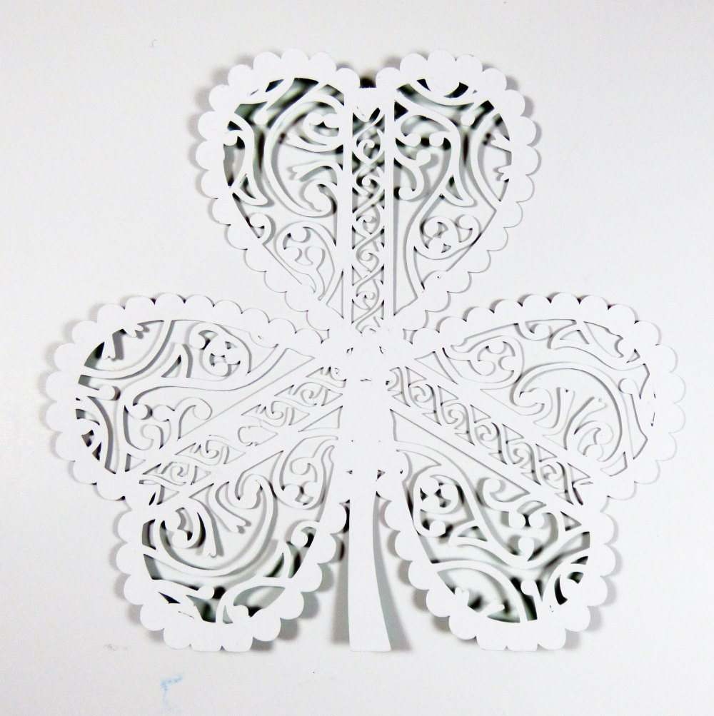 Large Shamrock for Foiling