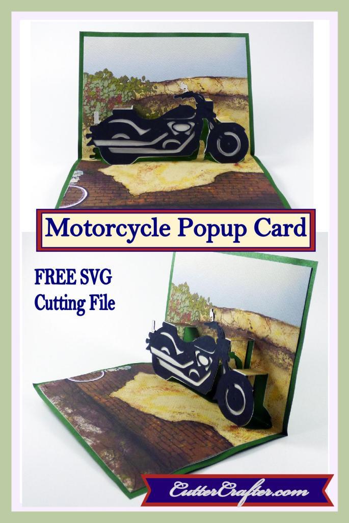 Motorcycle Popup Card Pin1