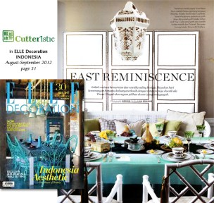 Cutteristic Elle aug-sep 2012 moroccan lamp