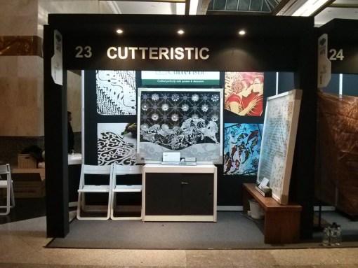 Cutteristic - ARTE 2014 Jakarta JCC 3