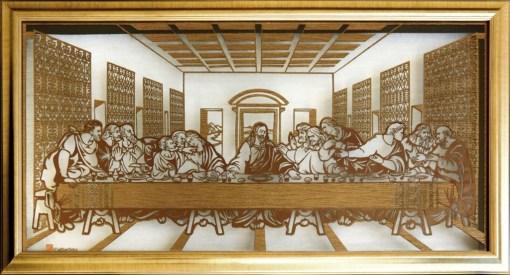 Cutteristic - Leonardo Da Vinci, Last Supper 5