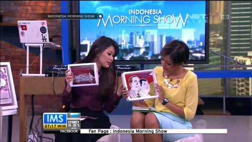 Cutteristic - Morning Show IMS Net TV, 25 Agustus 2014 07