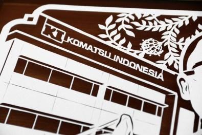 Cutteristic - Farewell Gift Komatsu Indonesia Donny Wishnu 3