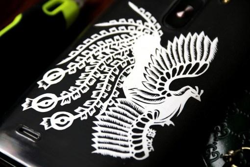 Cutteristic - Handphone Casing LG  G3 Phoenix Batik Burung Api 2