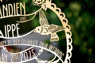 Cutteristic - Wedding Invitation Andien Ippe 2015 03