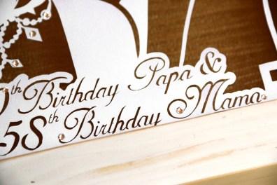 Cutteristic - Happy Birthday Papa Mama 8