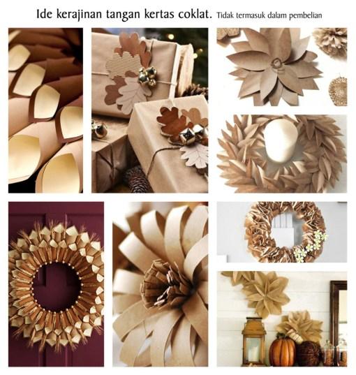 Cutteristic - Kertas Coklat Kraft Paper 5