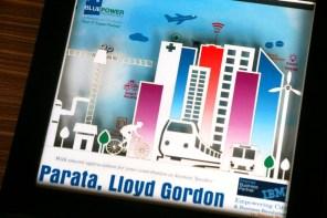Cutteristic - Souvenir Pembicara IBM Blue Power 2 Parata Llyod Gordon