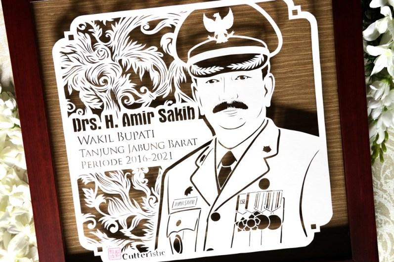 Cutteristic - Kado Sertrijab - Wakil Bupati Tanjung Jabung Barat, Drs H Amir Sakib (7)