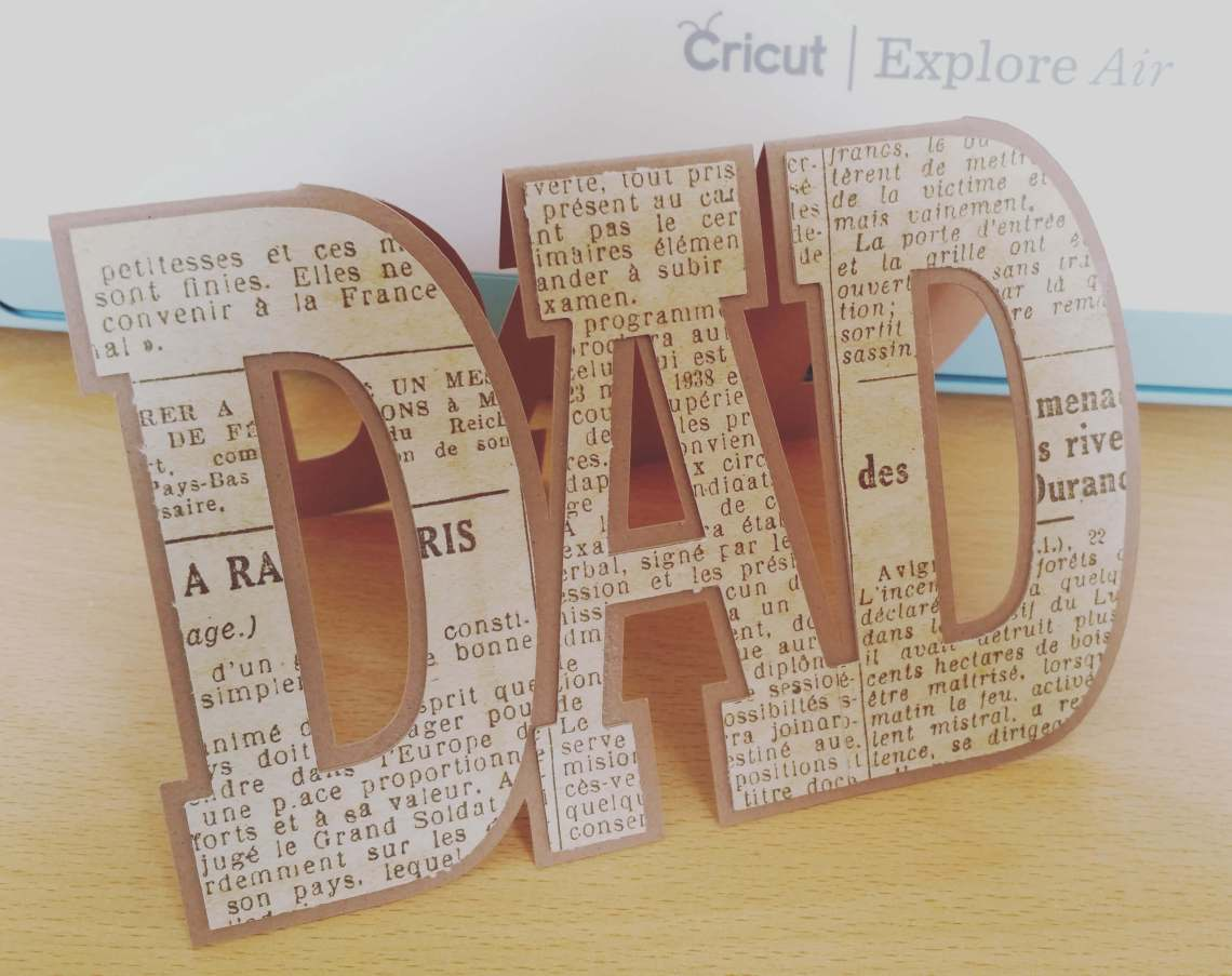 Download Cricut Explore Project: Cutting Cardstock + Free DAD card ...