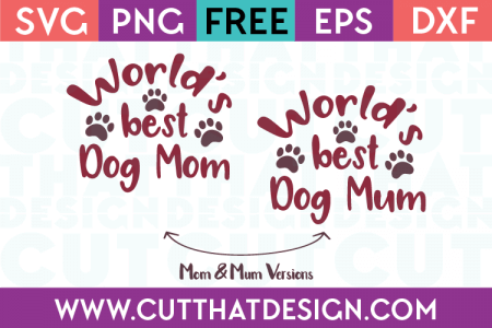 Download Paw Print Heart Design | Free SVG Files from Cut That Design