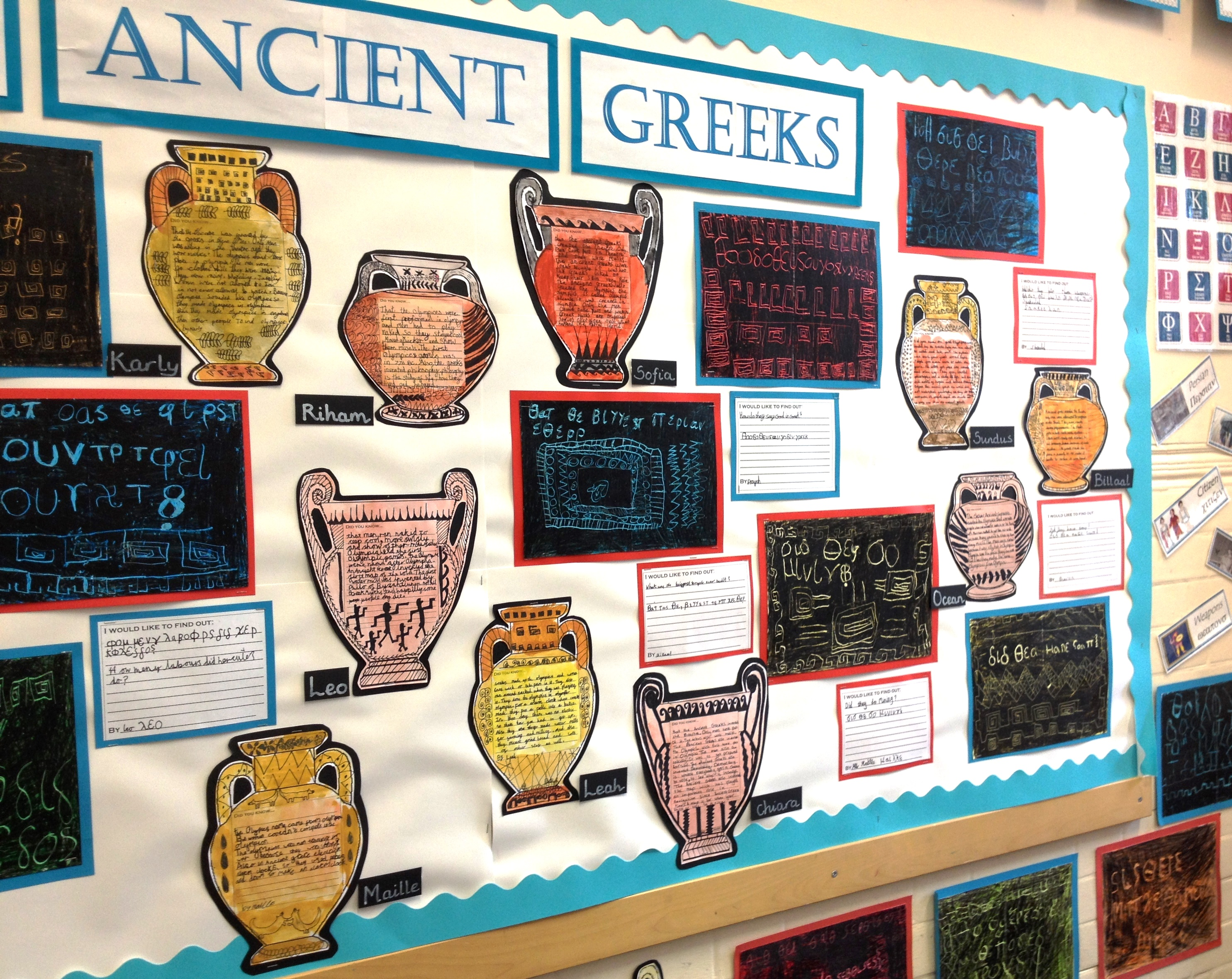 History Ancient Greeks Cuttingandsticking