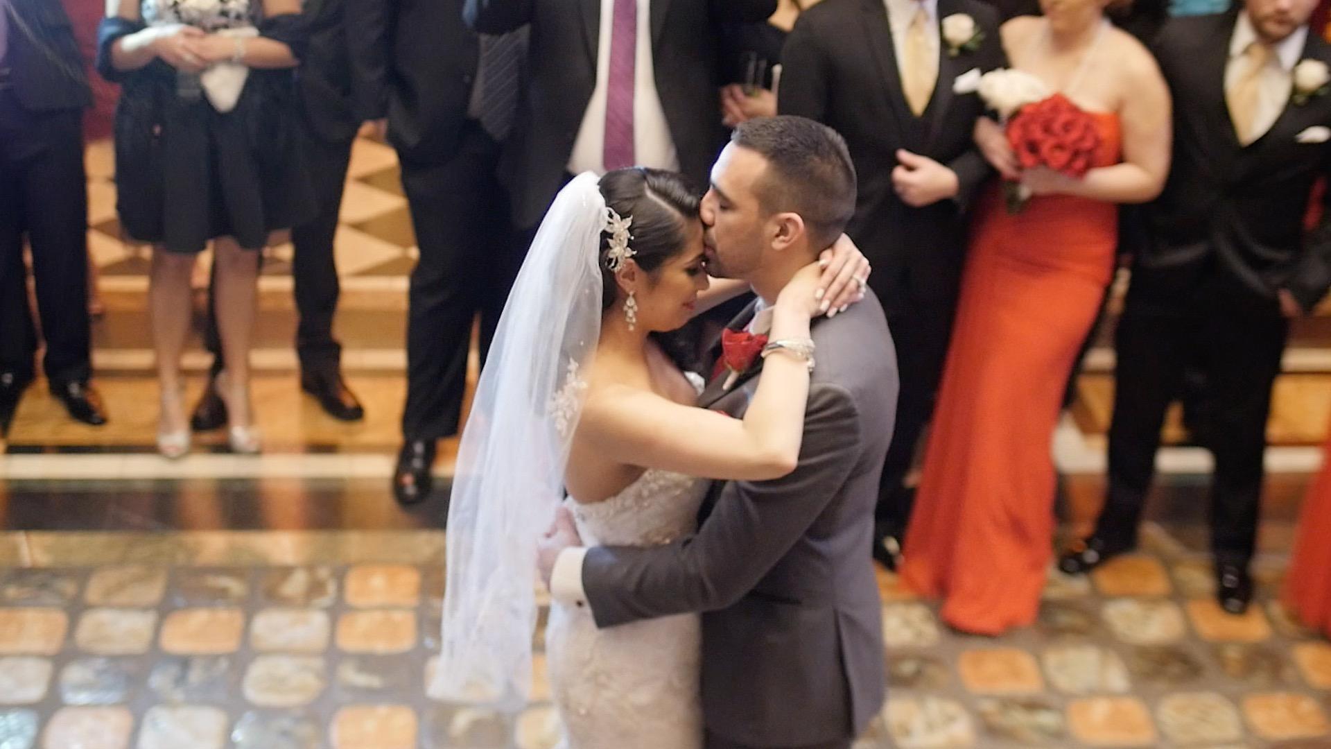 Wedding at The Cruz building in Coconut Grove FL
