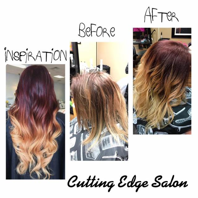 Cutting Edge Salon Foley MN before and after inspiration