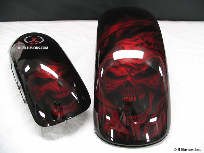 Motorcycles Custom Paint Ideas Ghost