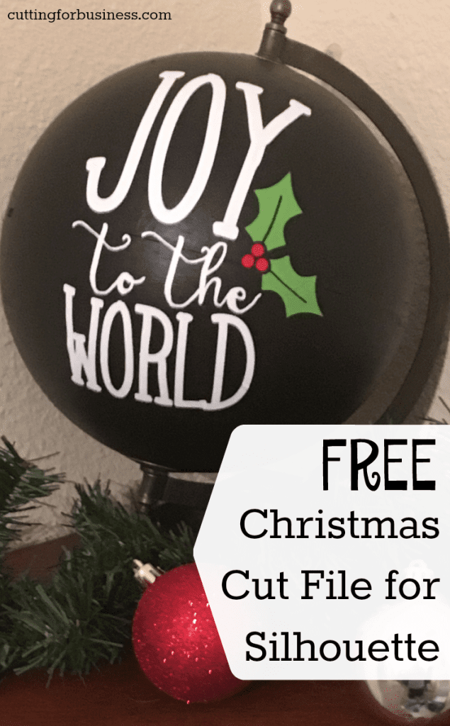 Download Free Commercial Use Christmas Cut File - Joy to the World ...